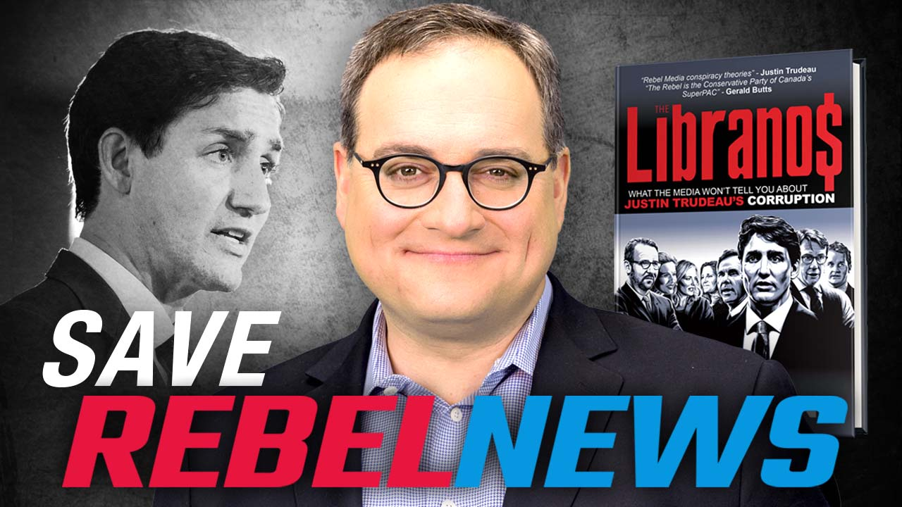 SAVE REBEL NEWS: Trudeau's lawyers are investigating me for writing a book about him!