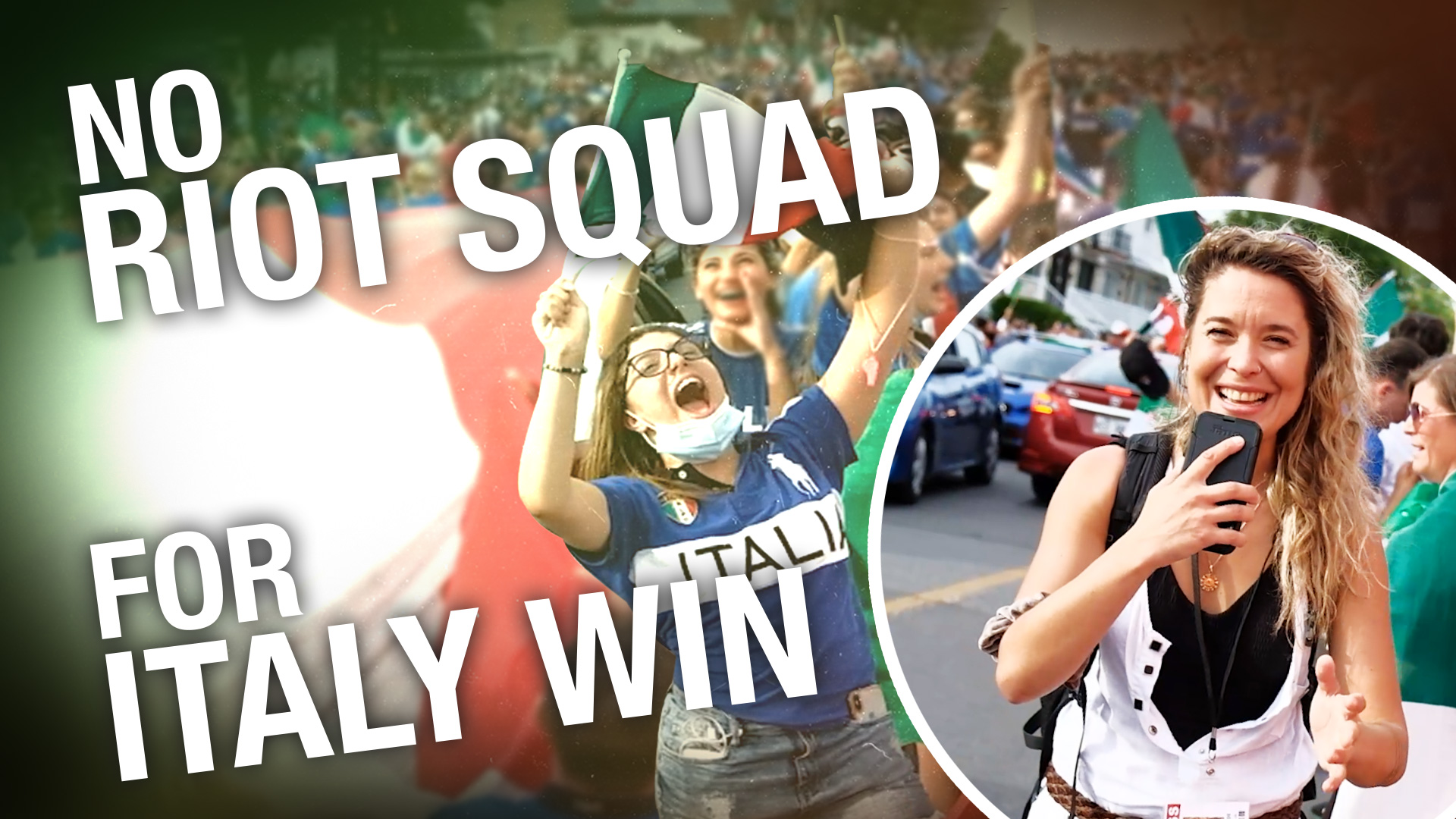 Montreal's Italian community erupts in cheer as Italy takes home the Euro cup