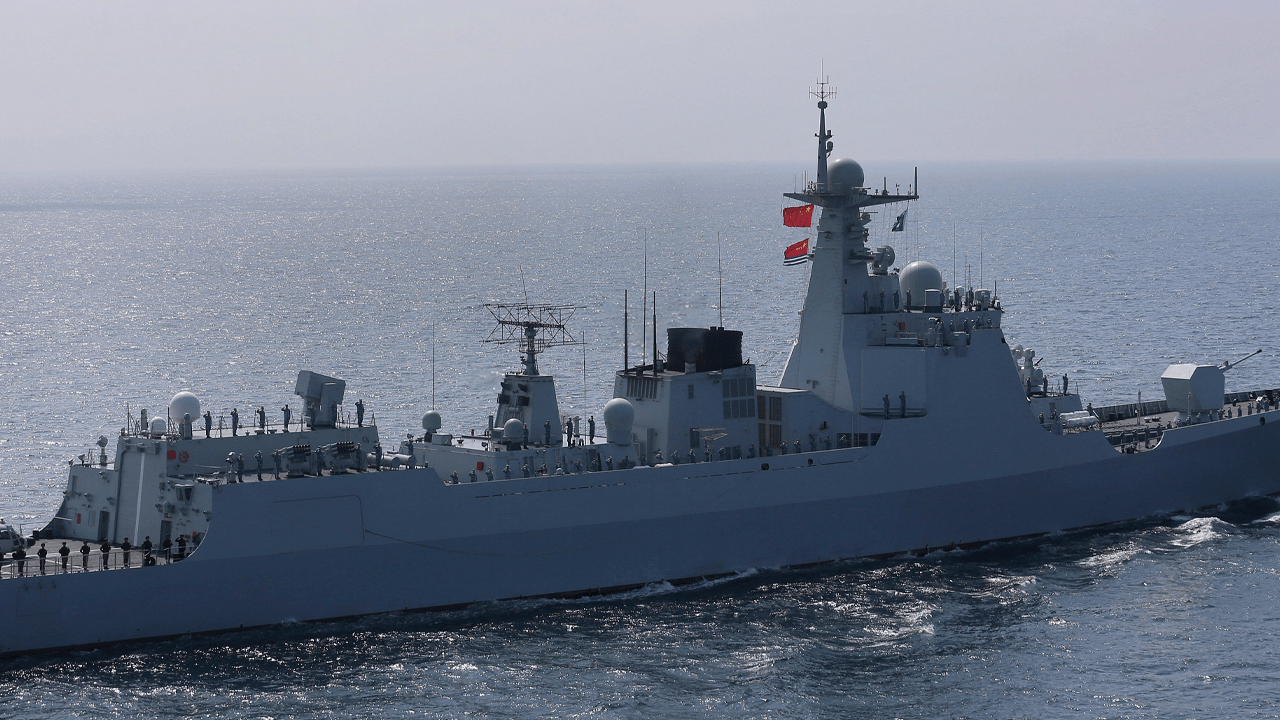China says it chased away a U.S. naval ship in South China Sea disputed territory