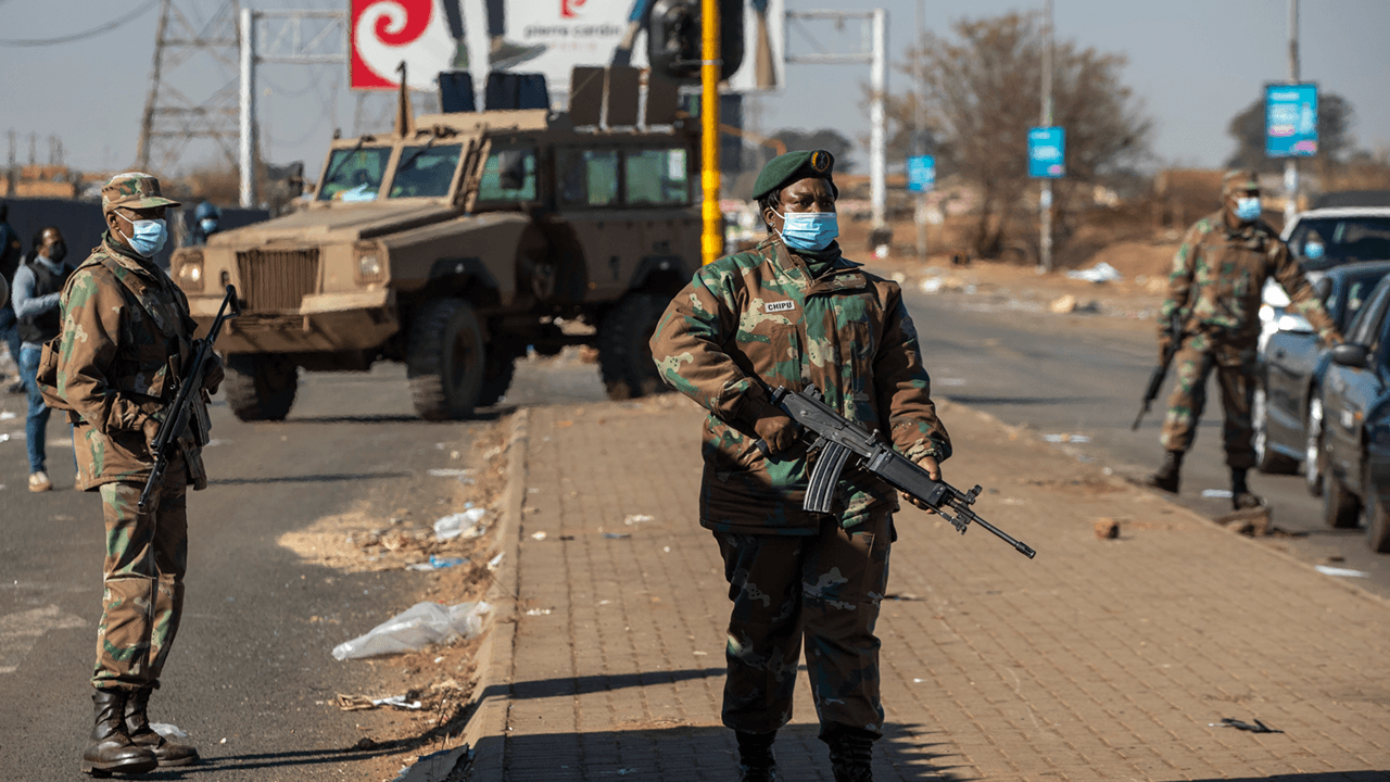 South Africa deploys military as deadly riots continue