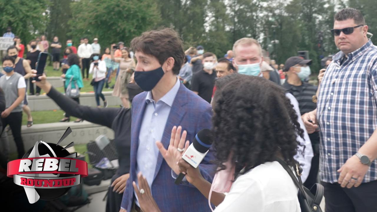 Elections commissioner convicts Ezra Levant a second time, Trudeau's RCMP manhandle Drea Humphrey