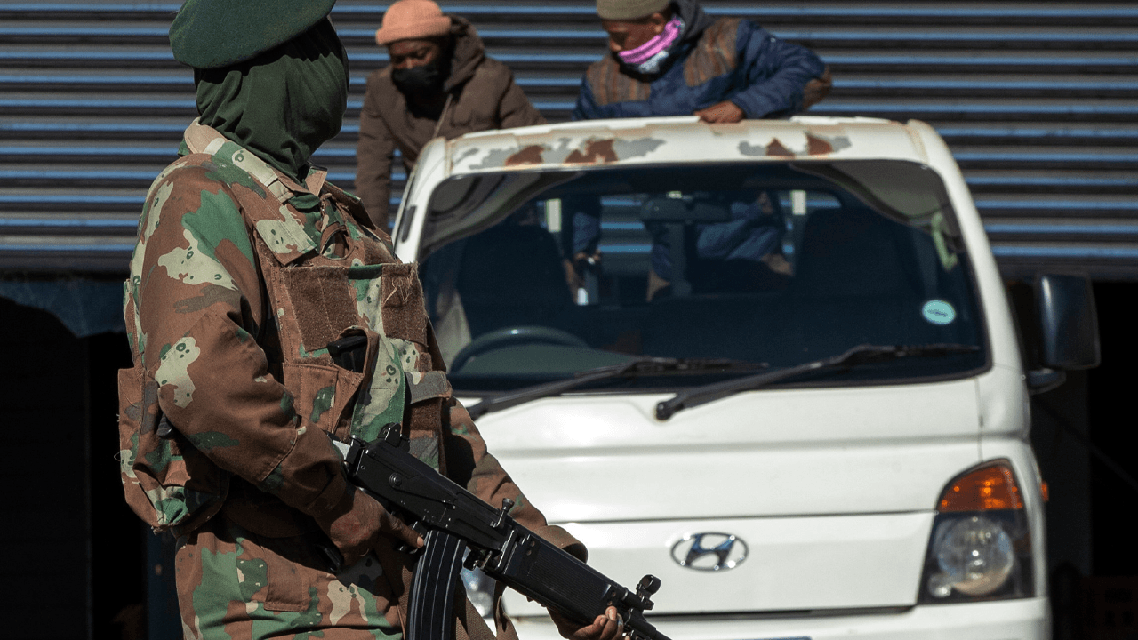 South African army deploys troops to try to restore order amid riots that have killed at least 117