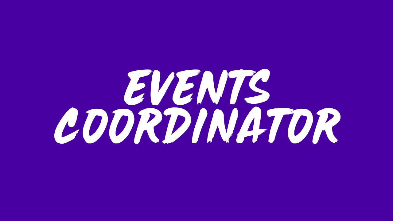 Events Coordinator