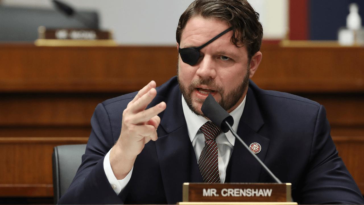 Dan Crenshaw slams door to door COVID vaccine programs
