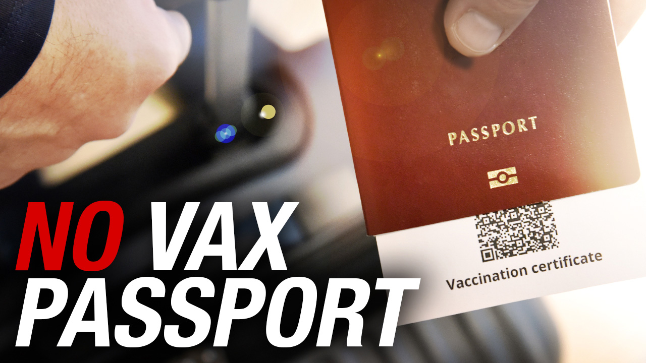 NO VAX PASSPORTS: Canadians should not be discriminated against for their medical history