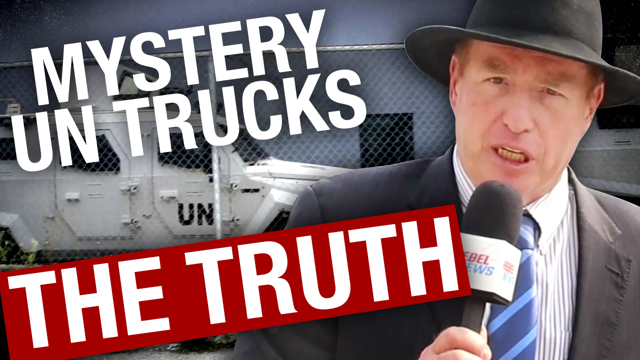 DEBUNKED: United Nations armoured trucks spotted in Toronto (not part of a vaccine conspiracy)
