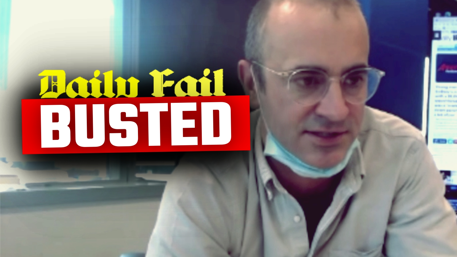 LEAKED VIDEO: Daily Mail Australia caught manufacturing fake news