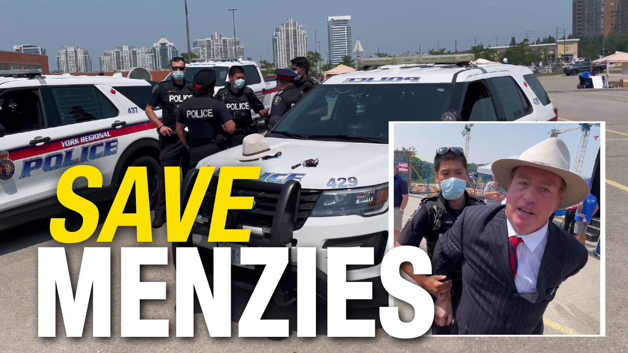 BREAKING: David Menzies ARRESTED at Conservative Party event