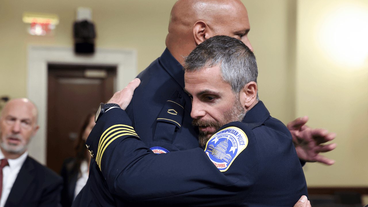 Police officers testifying at Jan. 6 commission meeting blame Trump, Republicans for inciting, downplaying Capitol riot