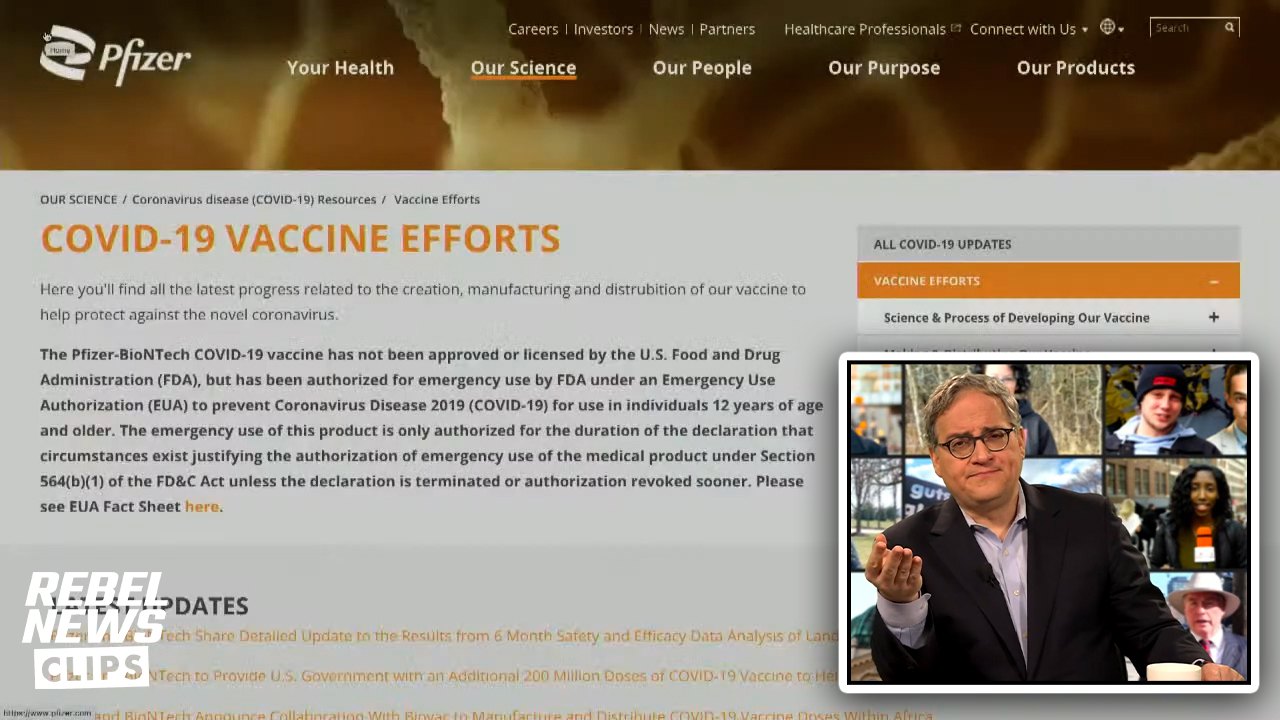 How does Pfizer feel about their vaccine? Here's what they say