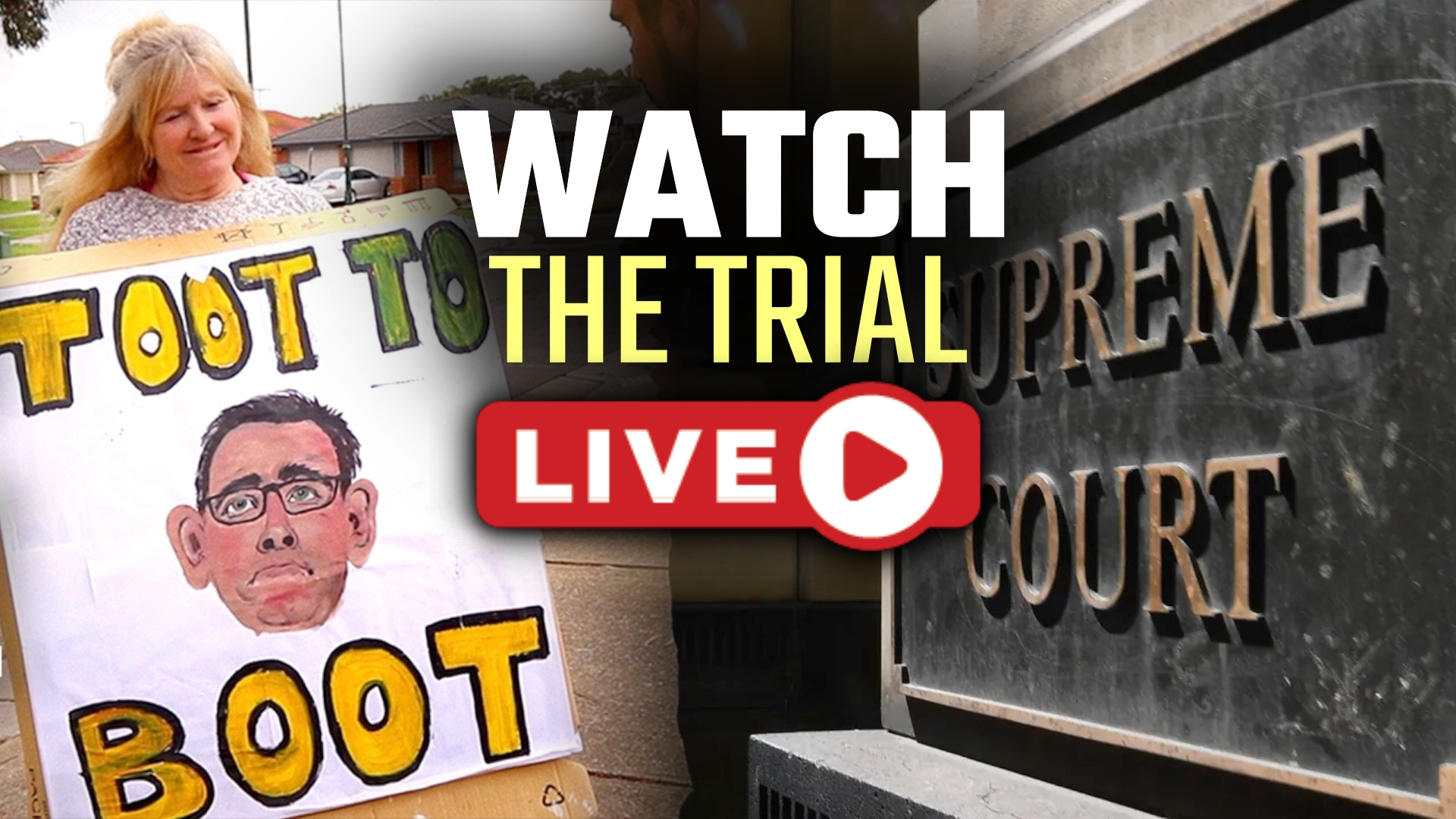 WATCH NOW: We're finally in the Supreme Court challenging Dan Andrew's lockdown laws!