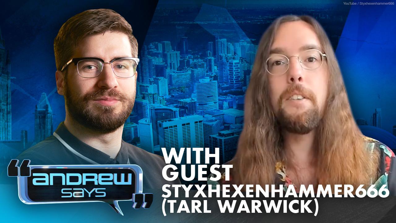 Deconstructing Bias with Tarl Warwick (StyxHexenHammer666) | Andrew Says 34