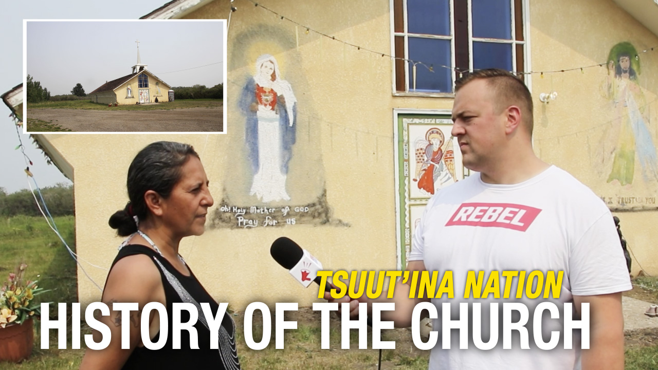 """""""We weren't just heathens at contact"""": Tsuut'ina Nation discuss their Christian faith"""