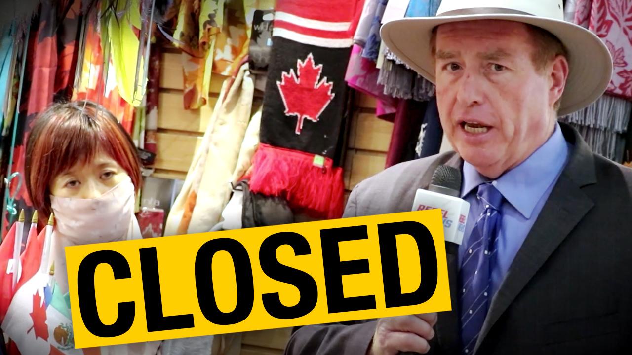 Toronto souvenir shop now shuttered due to City Hall bureaucrat's alleged vendetta