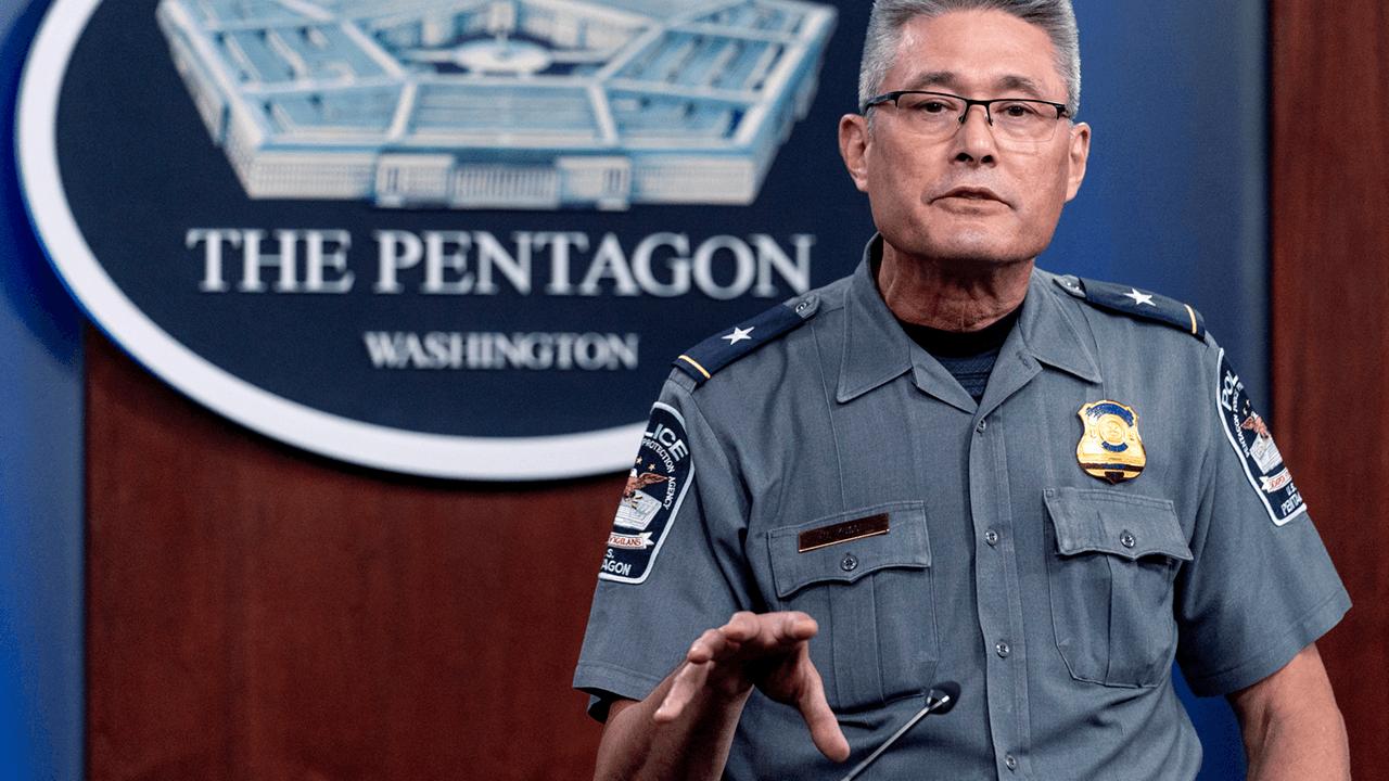 Officer dies after stabbing attack outside Pentagon