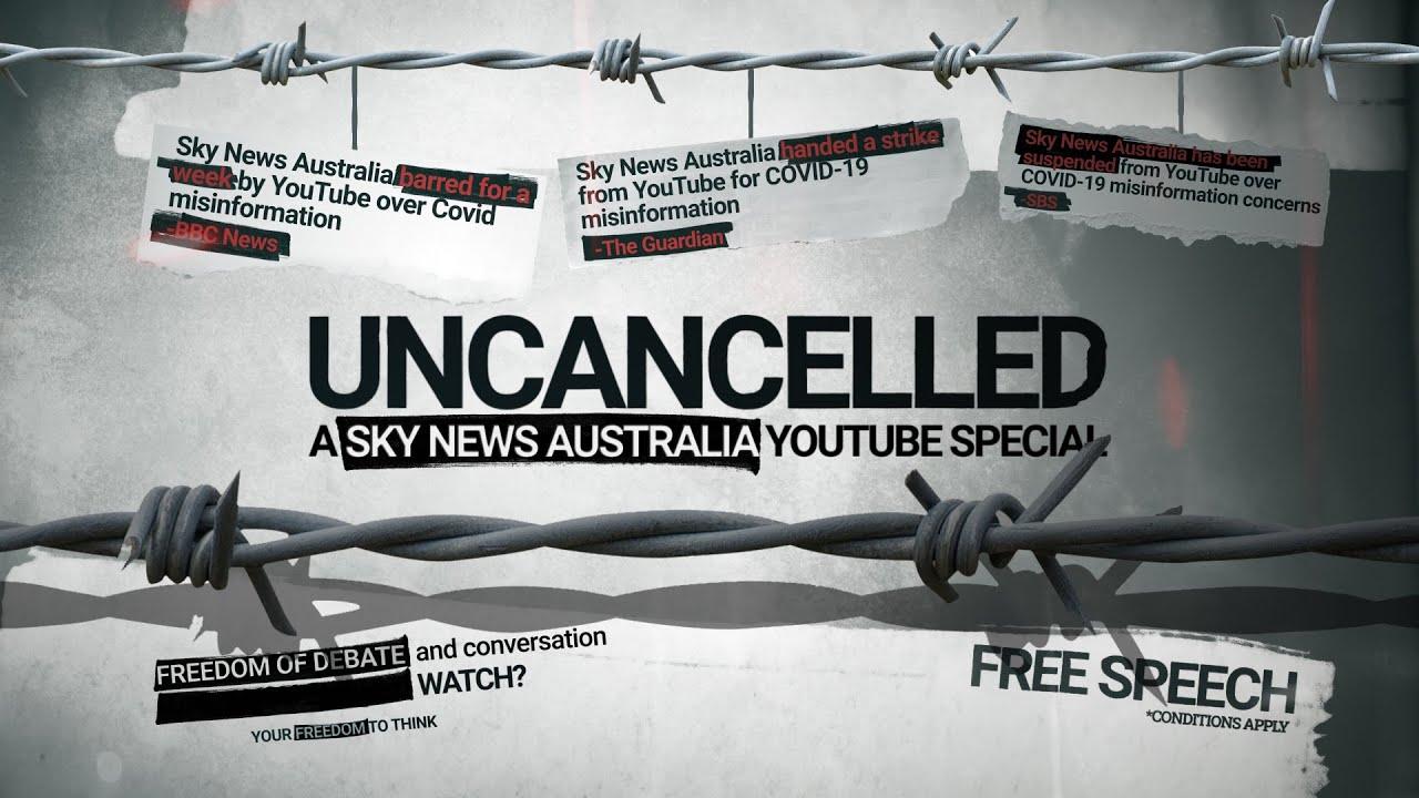 Sky News Australia storms back onto YouTube with anti-censorship video