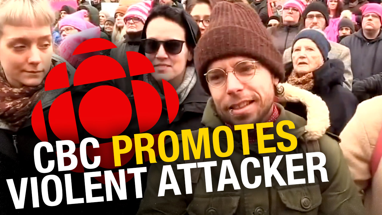"""Dion Bews: CBC knew guitar maker """"Dion James"""" was convicted of assaulting Sheila at Women's March"""