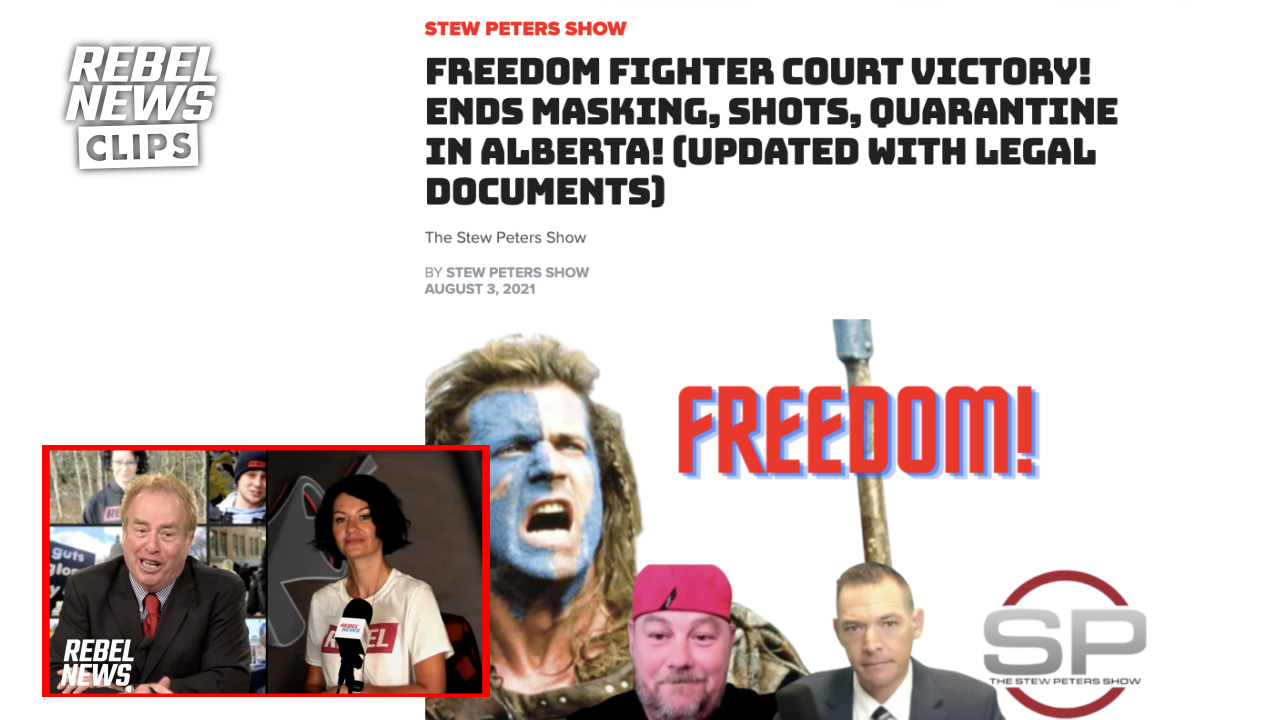 No, one Alberta man DID NOT end the lockdown and mask mandate