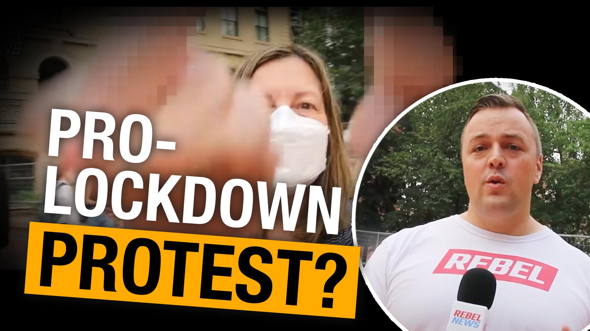 Pro-lockdown protesters demand Alberta brings back public health restrictions