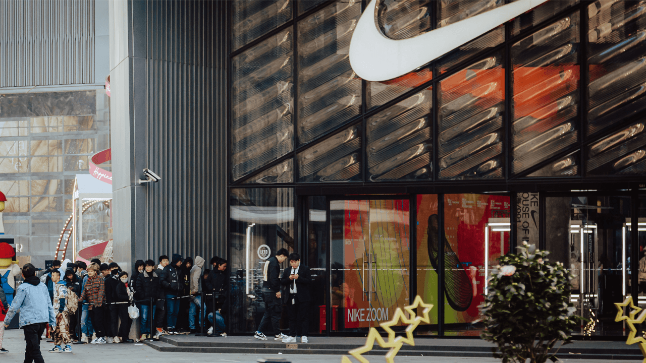 """Nike CEO: Selling in China """"very aligned with our values"""""""