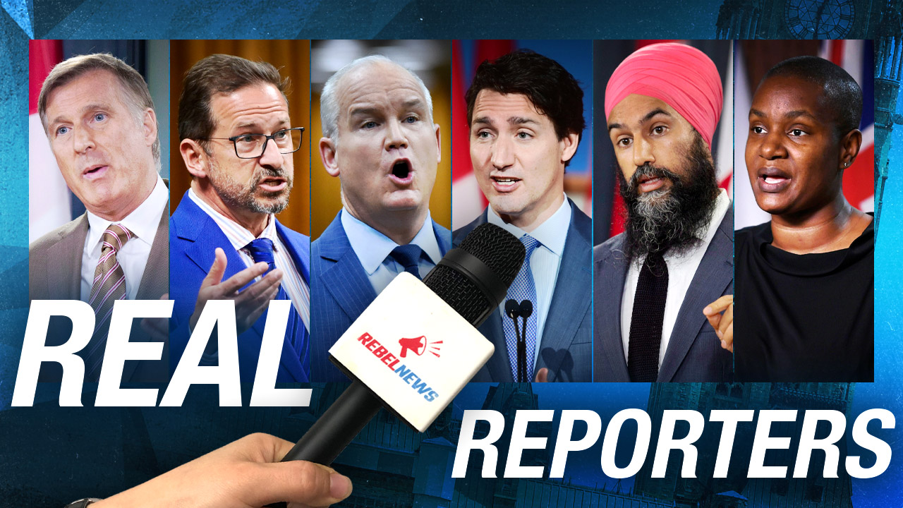 Canadians need REAL REPORTERS to cover the 2021 election