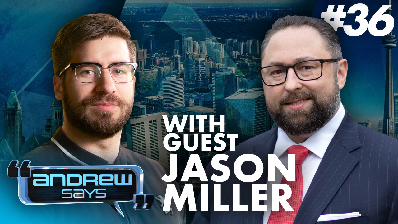 How to give Trump advice | Jason Miller on Andrew Says #36