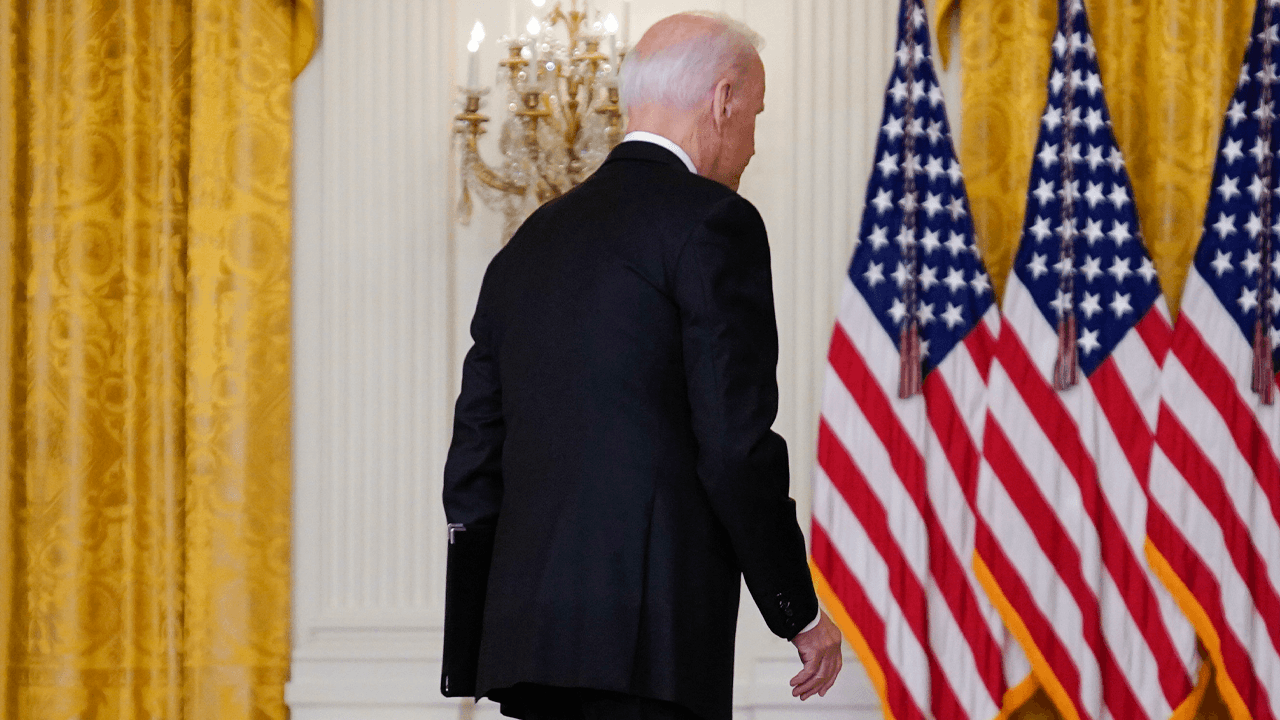 Biden's approval rating is at the lowest point of his presidency following Afghanistan withdrawal