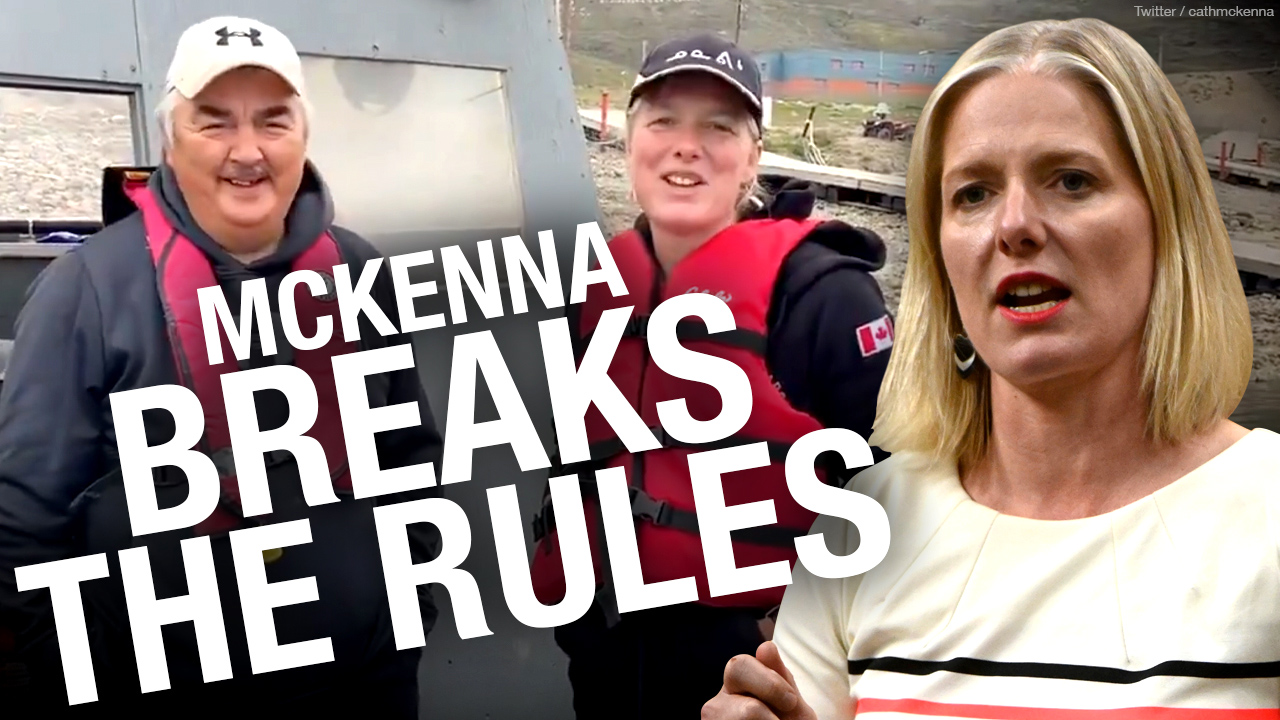Did Catherine McKenna break COVID rules while travelling to Nunavut? Rebel News lawyers investigate