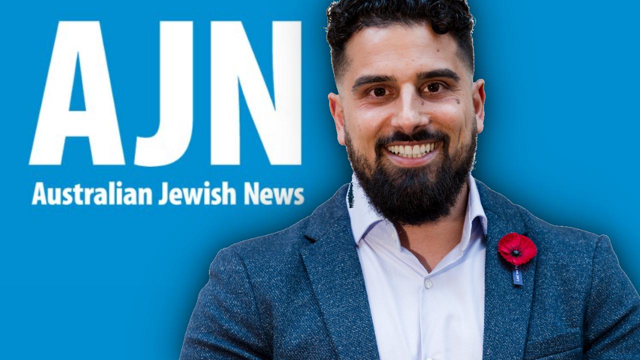 Avi Yemini: The Australian Jewish News does not represent us