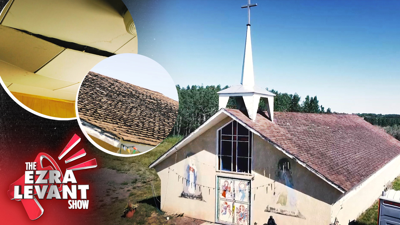 GOOD NEWS: We're helping repair the roof on a First Nations church