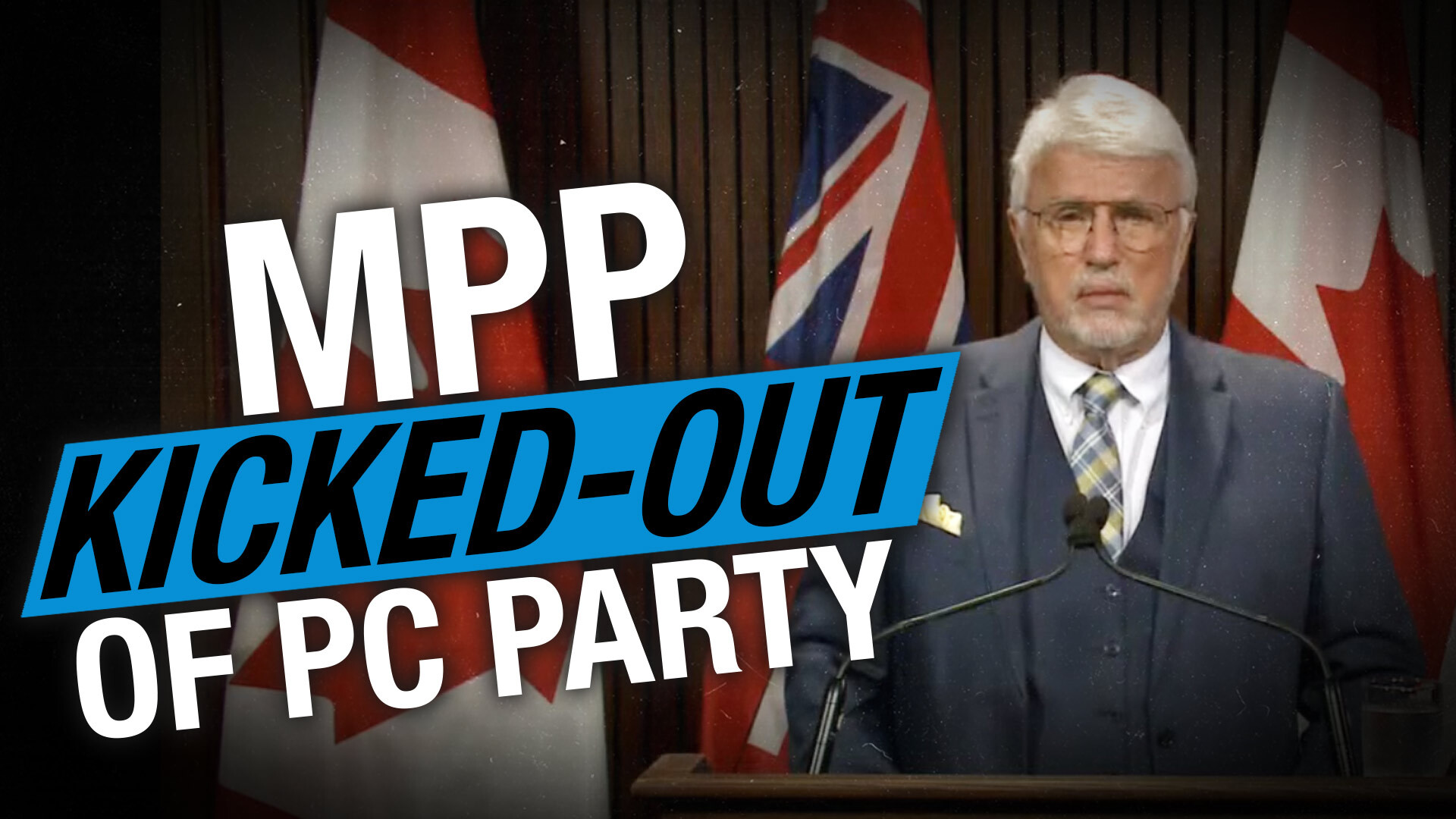 No jab, no job: Premier Ford set to expel MPP Rick Nicholls for not taking vaccine