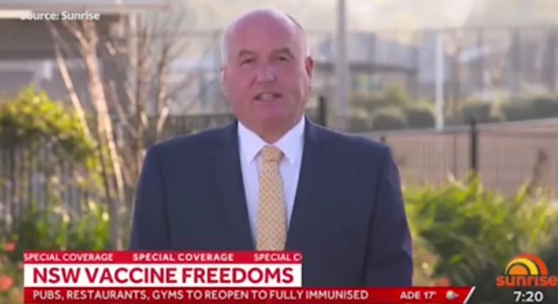 NSW 'Freedom Plan' includes vaccine passports