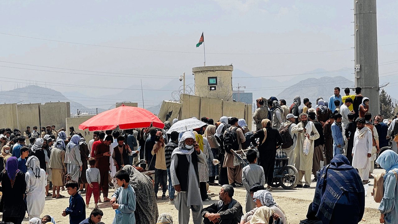 Chaos at Kabul airport continues, reports of Taliban attacking American allies trying to escape