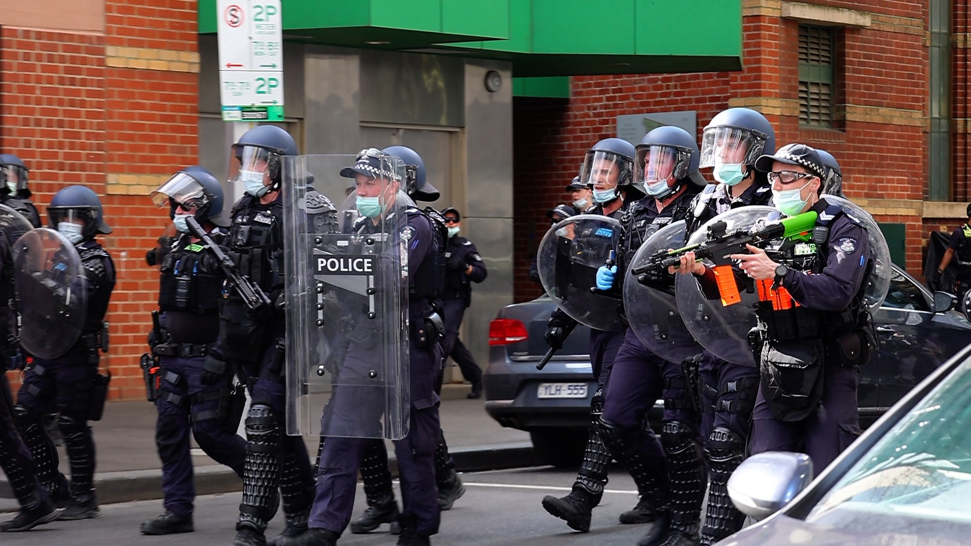 Thousands march across Australia against lockdowns as police escalate violence