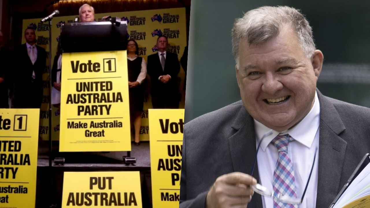 Craig Kelly joins Clive Palmer's United Australia Party