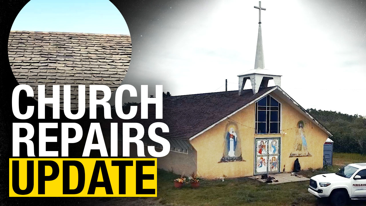 """Tsuut'ina Nation """"so grateful"""" to have church repaired"""