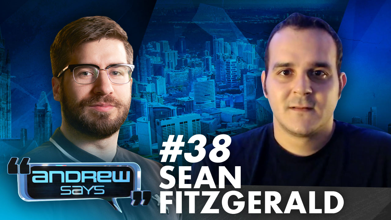 Being An Actual Justice Warrior | Sean Fitzgerald on Andrew Says 38
