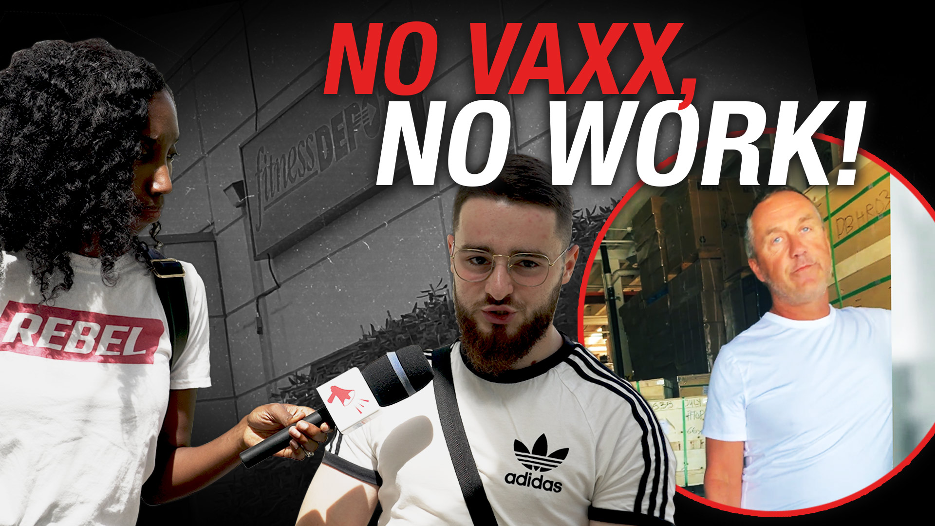 Fitness Depot goes on an unvaccinated firing spree