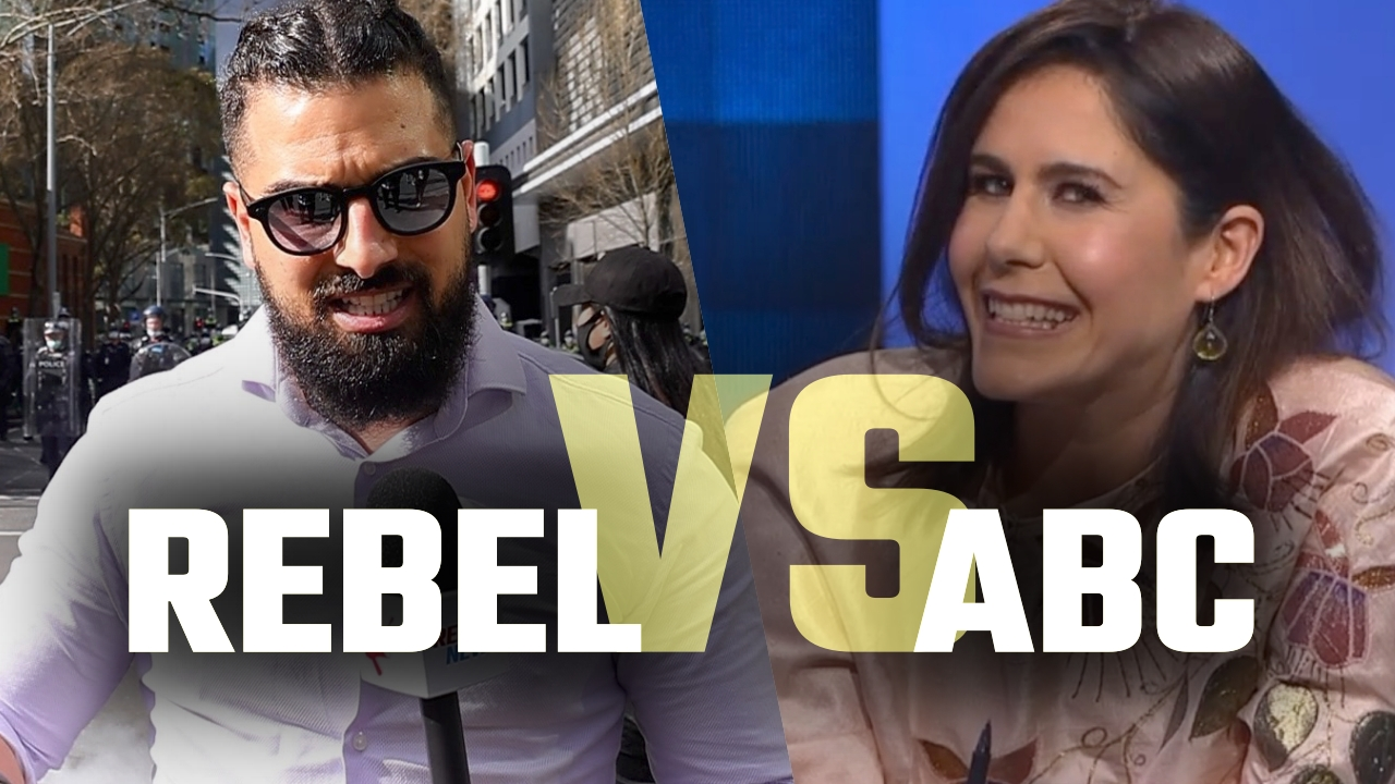 WATCH: Australian state-funded media mocks Rebel News for doing REAL journalism