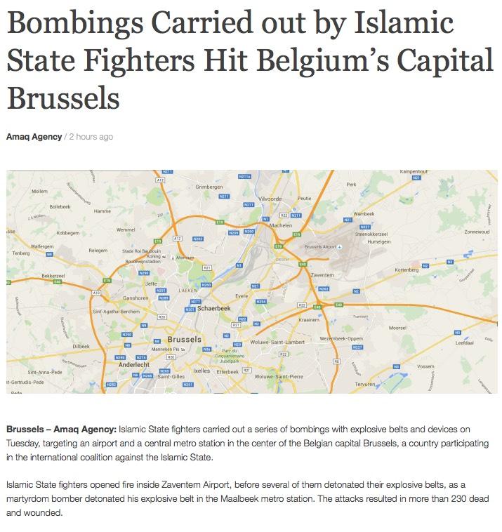 Islamic State press release