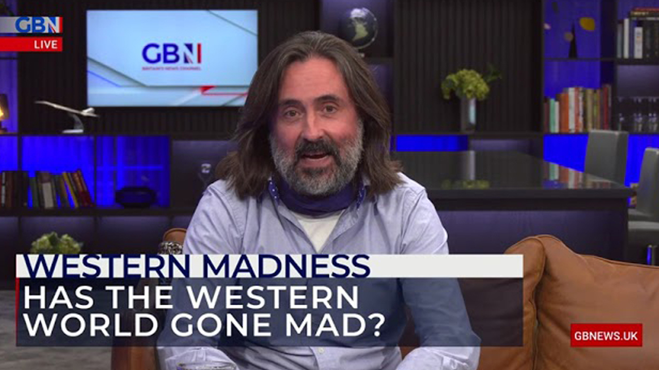 WATCH: The West gripped by madness, not a virus