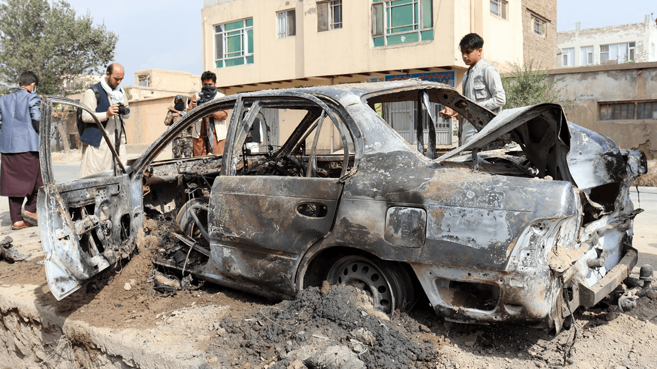 U.S. military investigating reports that Kabul drone strike targeting suspected ISIS-K suicide bomber killed 10 civilians