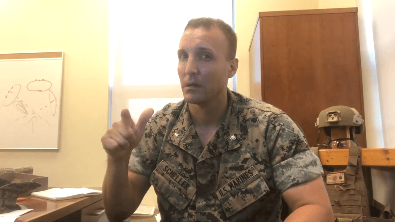 U.S. Marine officer fired after viral video demanding accountability from military leadership over Afghanistan