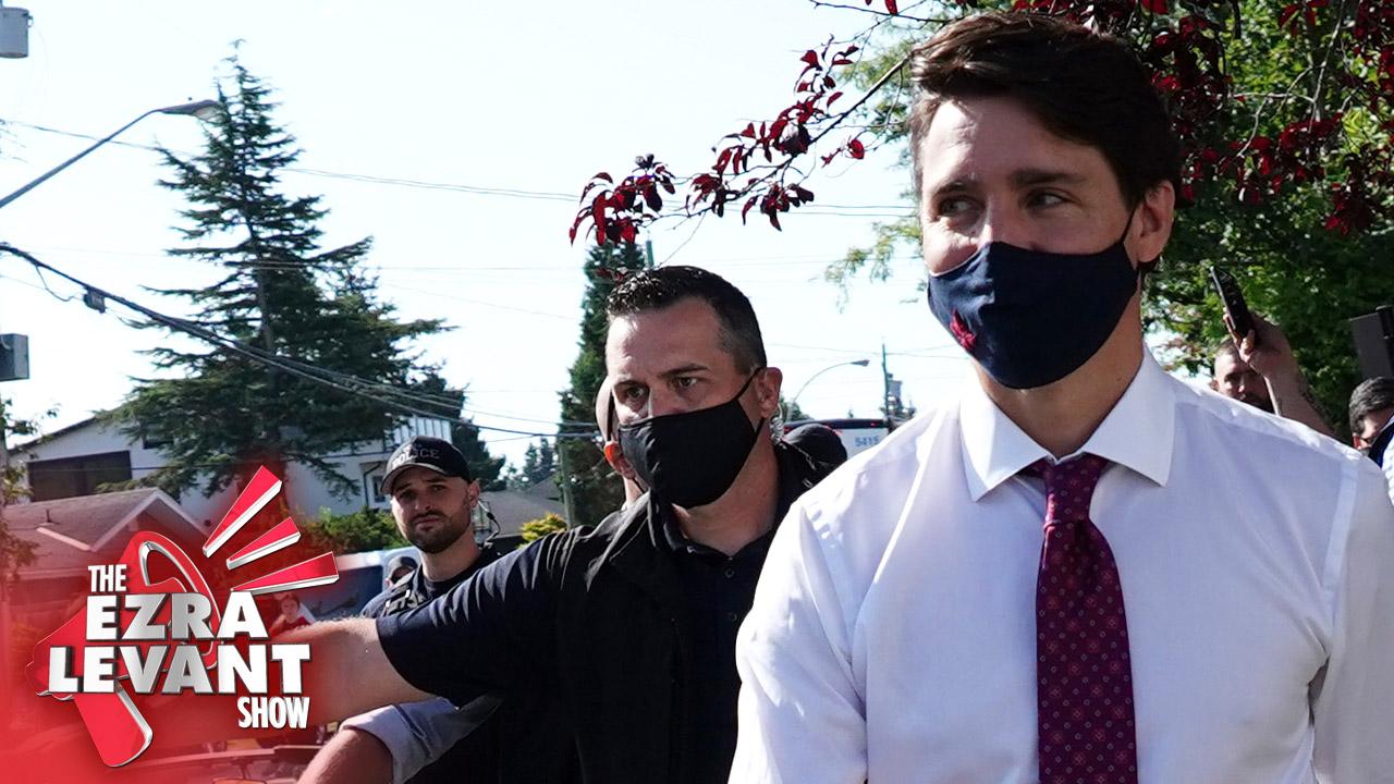Media having a hard time understanding Canadians heckling Justin Trudeau