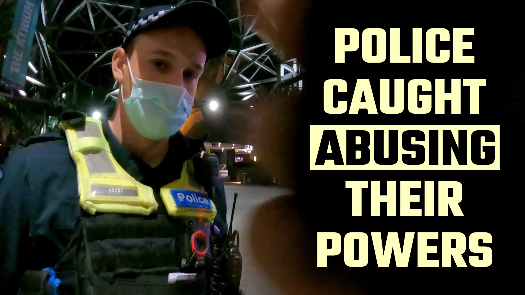 HIDDEN CAMERA: Covid-cops BUSTED conspiring to lay 'trumped-up' charges