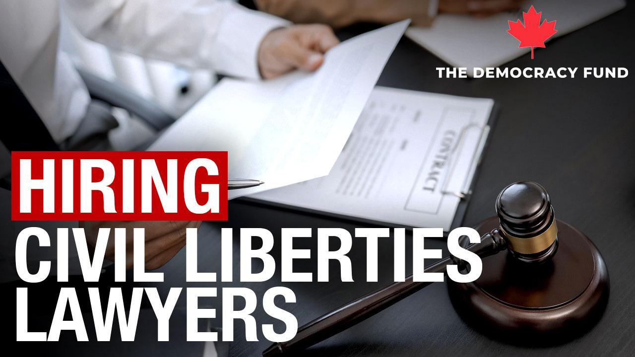 Hiring Civil Liberties Lawyers