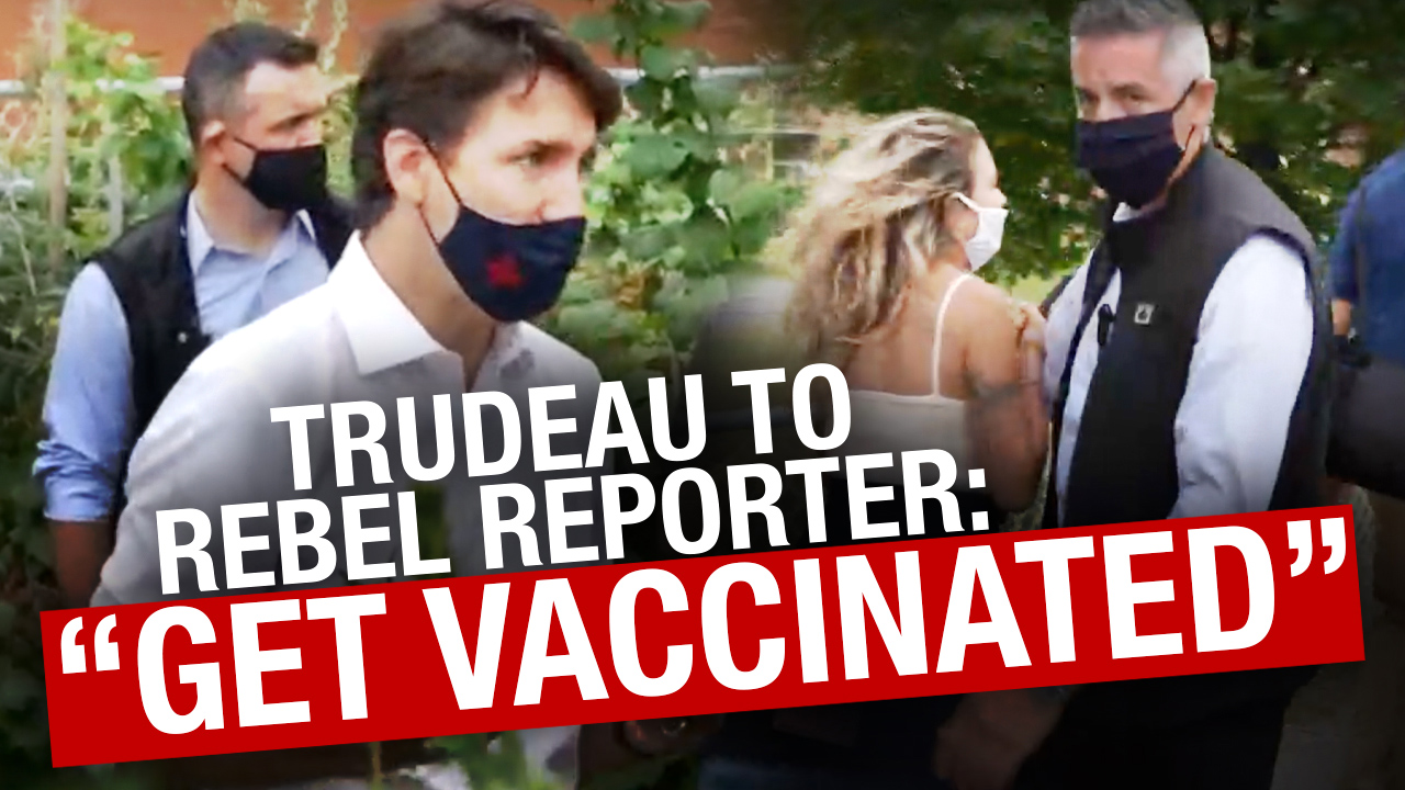 Justin Trudeau tells reporter to