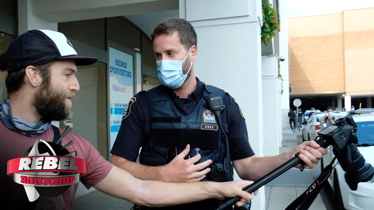 Quebec Cops Confiscate Our Footage, Natalie Klein Sues Alberta
