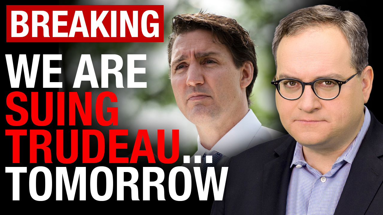 BREAKING: The Federal Court will hear our lawsuit against Trudeau TOMORROW!
