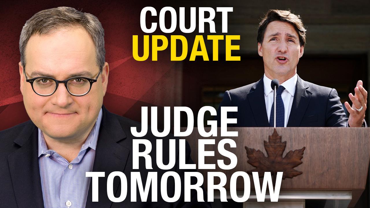TRIAL RECAP: We sued Trudeau's debates commission today — judge to announce verdict tomorrow!